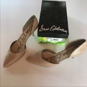 Sam Edelman d'orsay nude heels